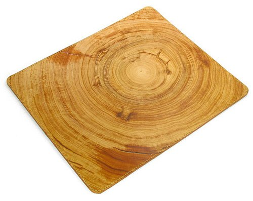 Natural mousepad leather