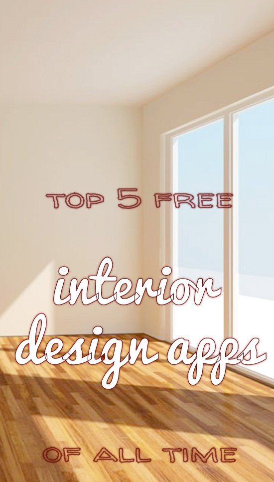 Interior design apps