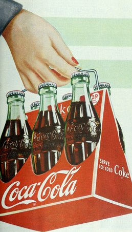 coke packaging vintage