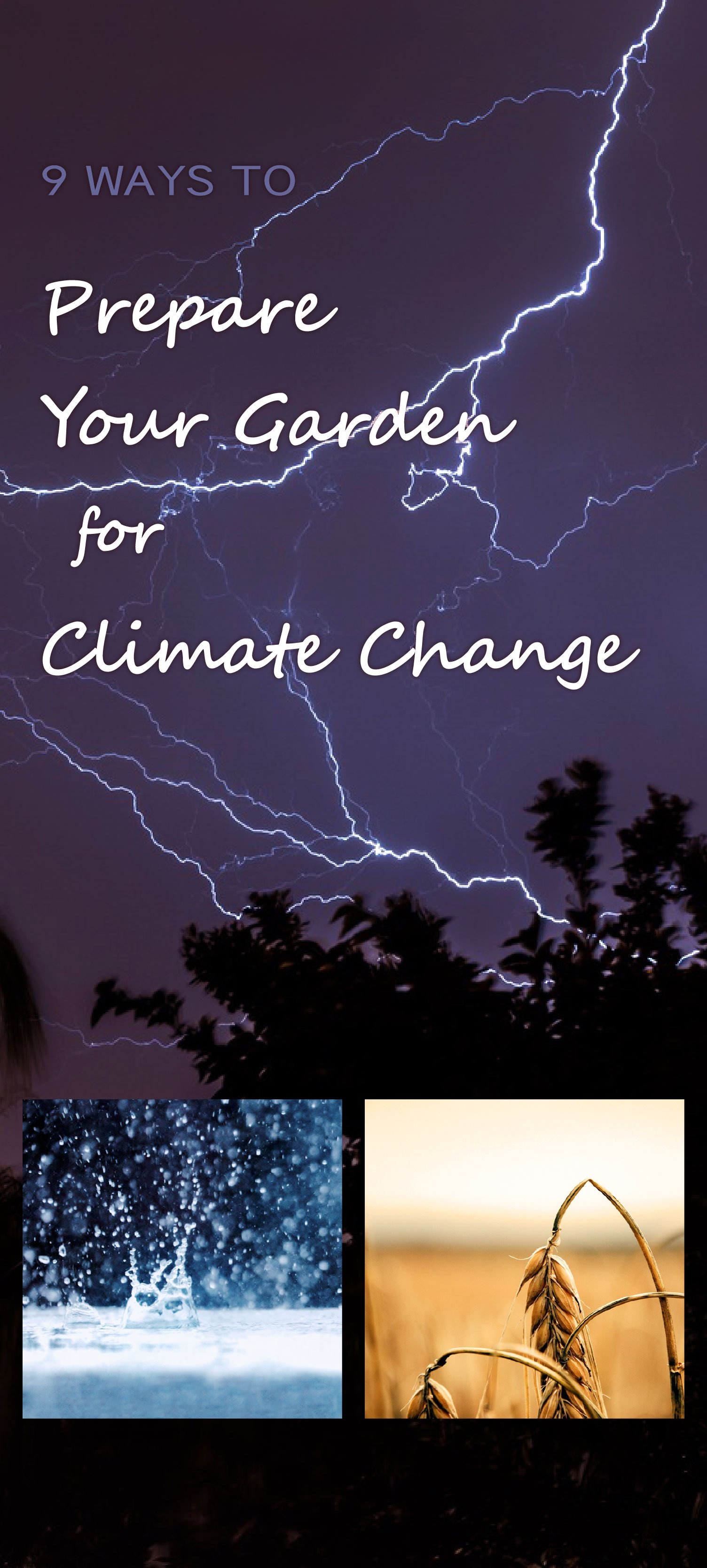 Garden for climate change