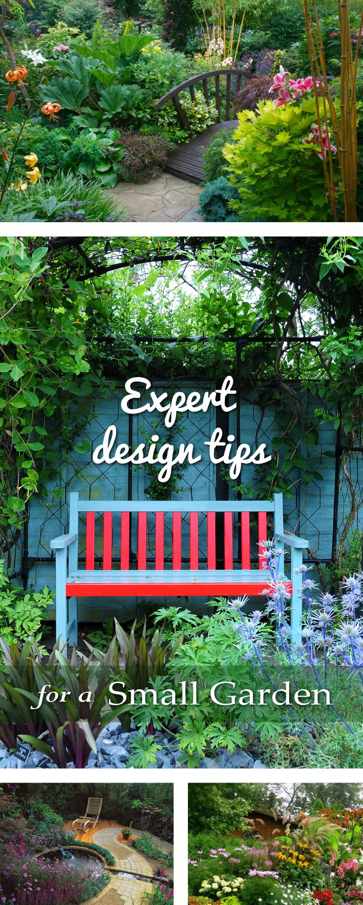 Expert design tips for a small garden