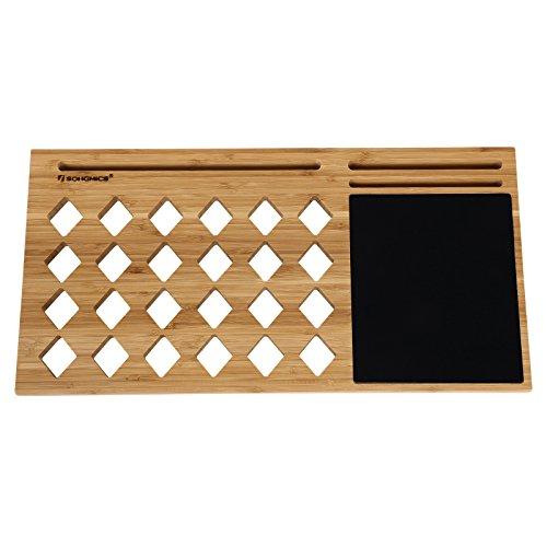 bamboo laptop tray mousepad