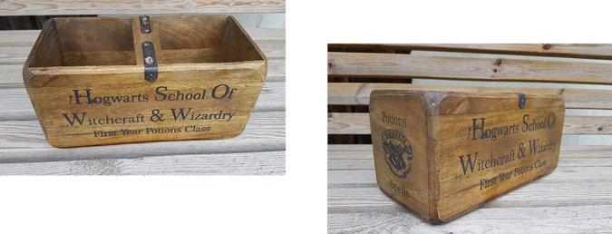 Hogwarts crate box