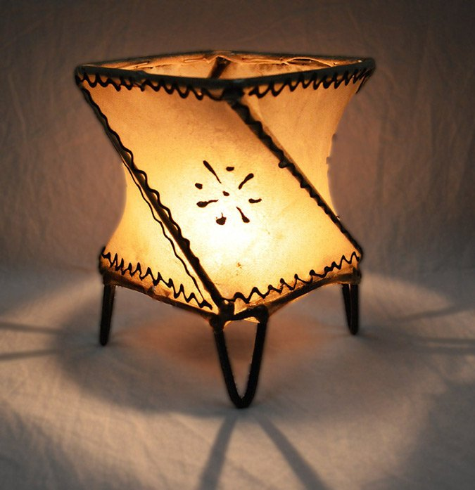 henna lamp