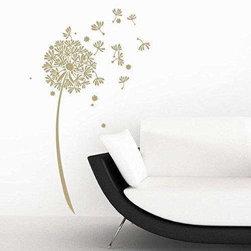 dandelion decal