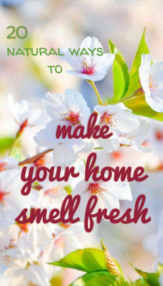 Home smell fresh