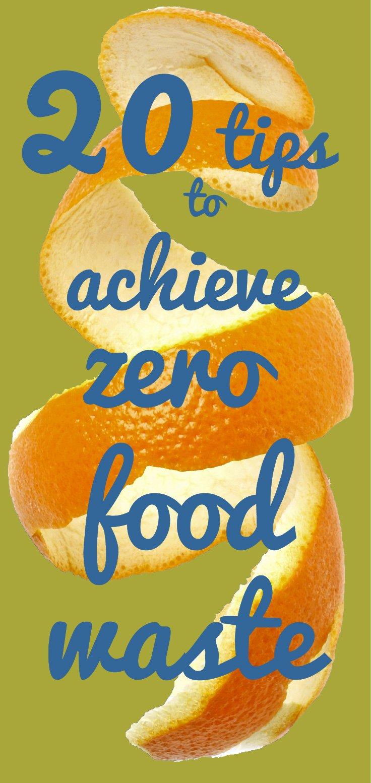 Zero food waste