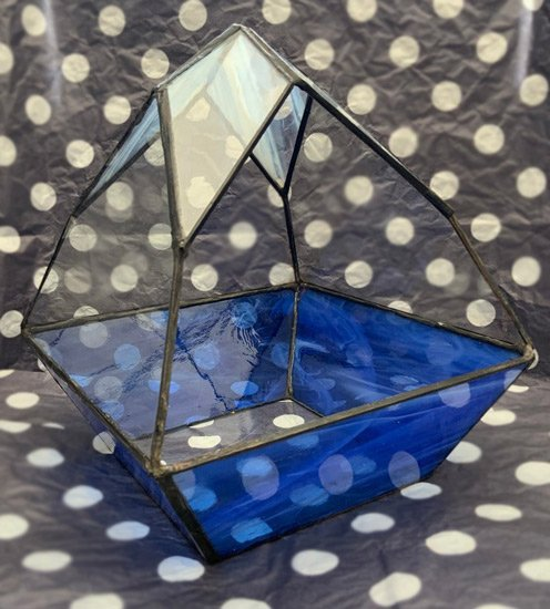 Terrarium-with-blue-stained-glass