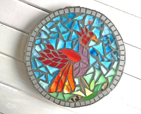 Mosaic-stepping-stone