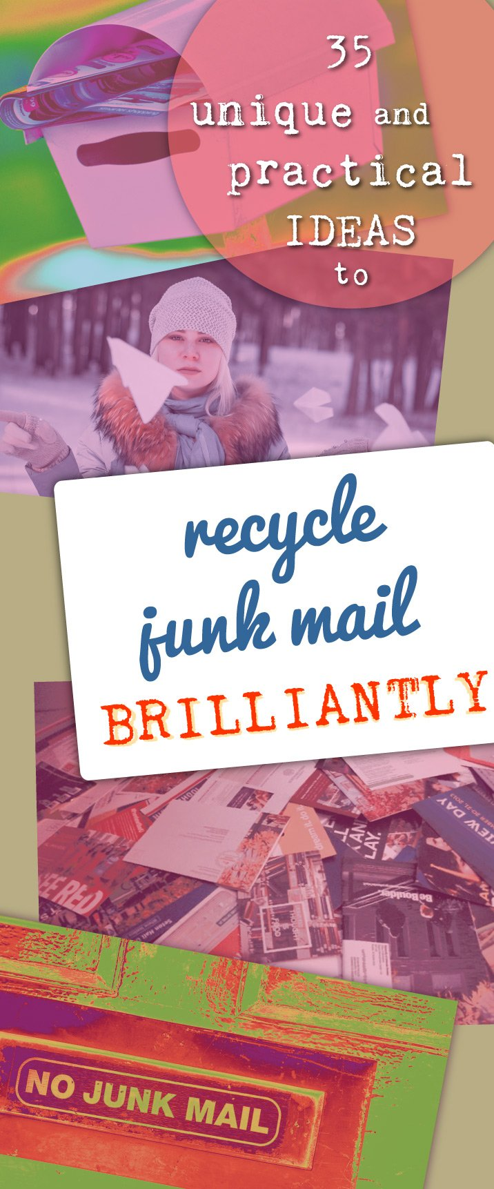 Recycle junk mail