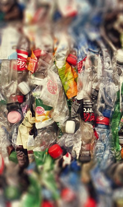 Plastic-bottles-crushed