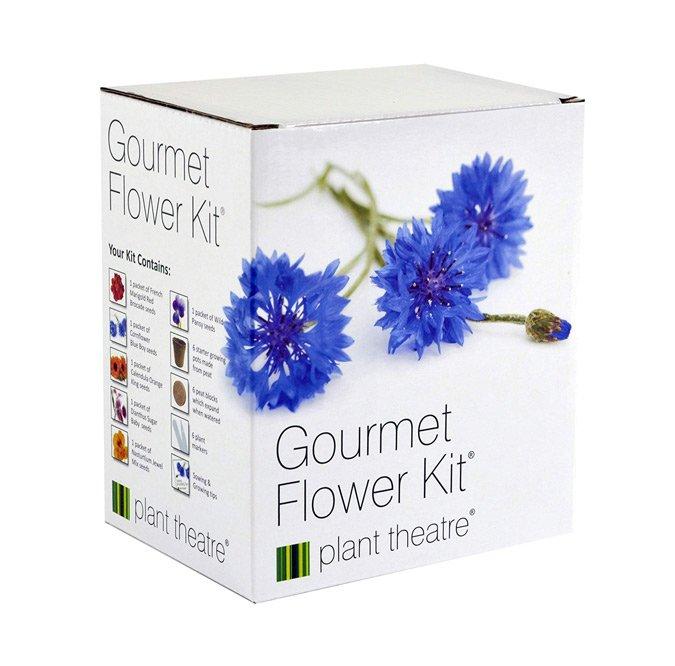 edible flowers gift box