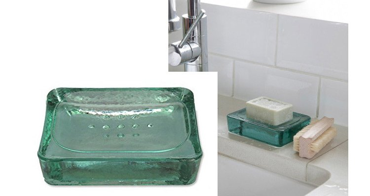 Recycled-glass-soap-dish