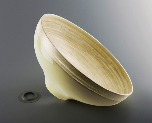 Bamboo-lampshade-wave-cream